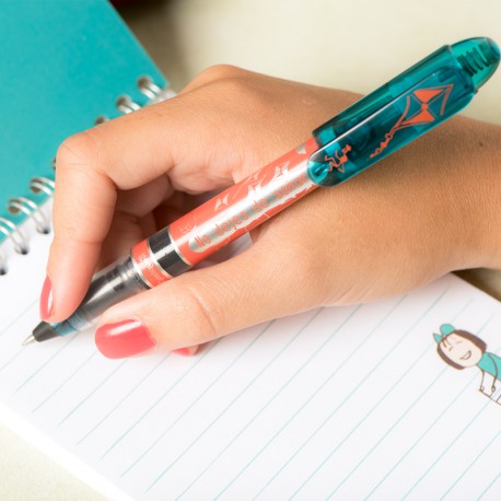 Bolígrafo roller-azul