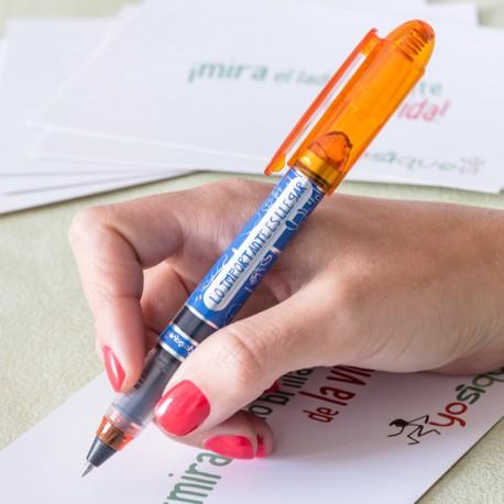 Bolígrafo roller-rojo