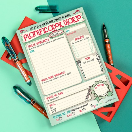 Planificador diario
