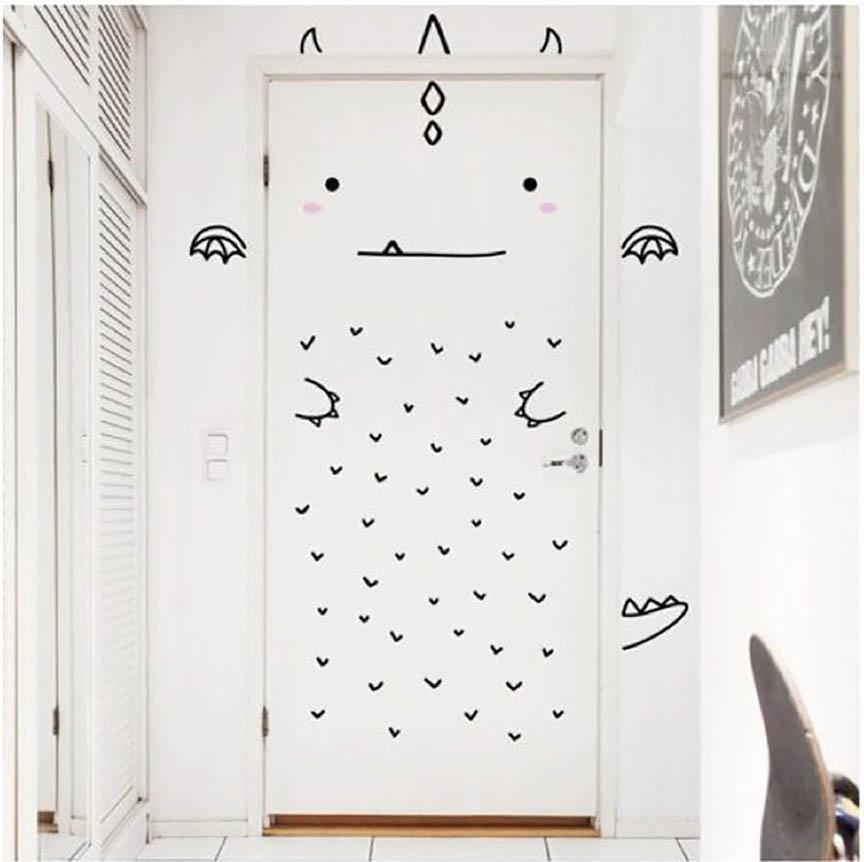 decorar una puerta, yosíquesé