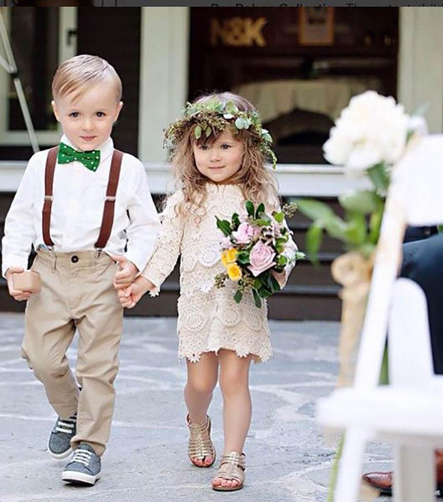 Vestidos para pajes de boda 2019