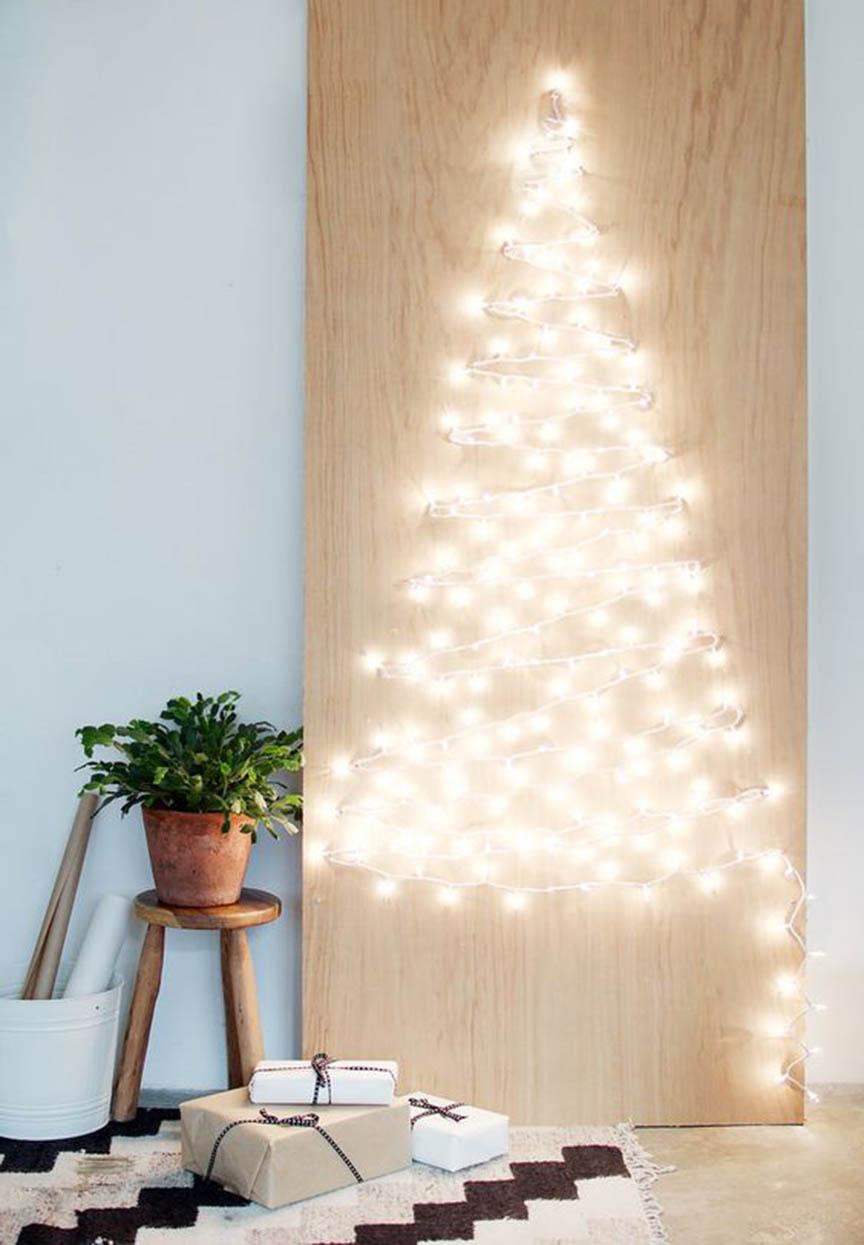 árbol de navidad casero, yosíquesé