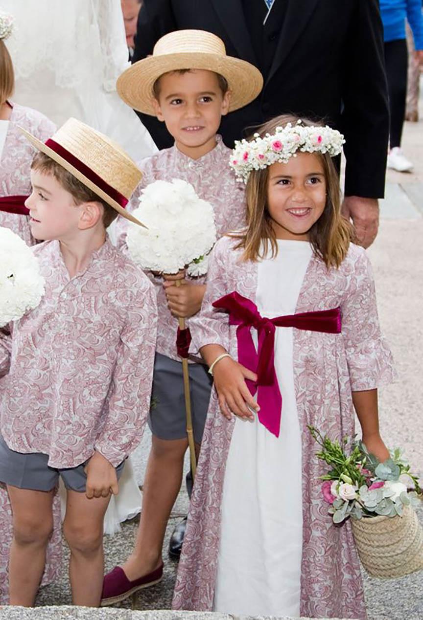 Los pajes de boda más guapos del mundo  7288856a4bf