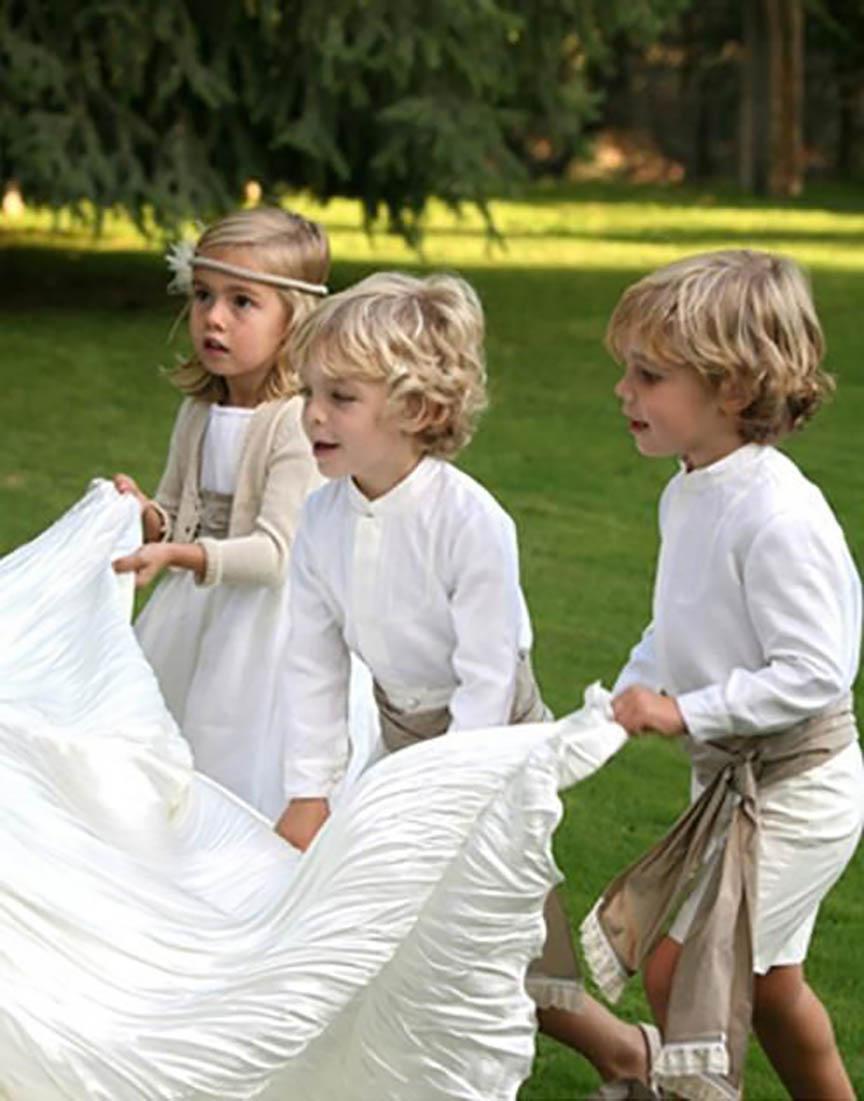 Los pajes de boda más guapos del mundo | Blog Yosíquesé