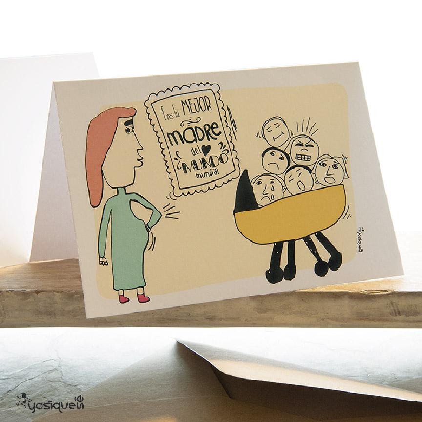 tarjeta de felicitación, yosíquesé