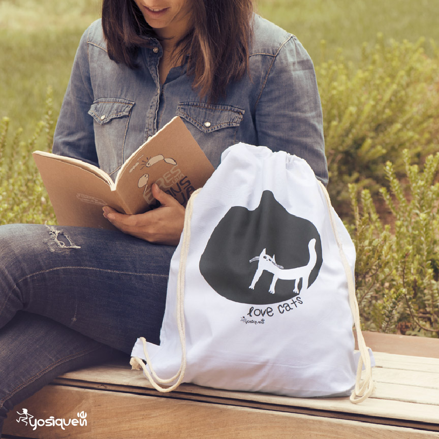 mochila con diseño, yosíquesé
