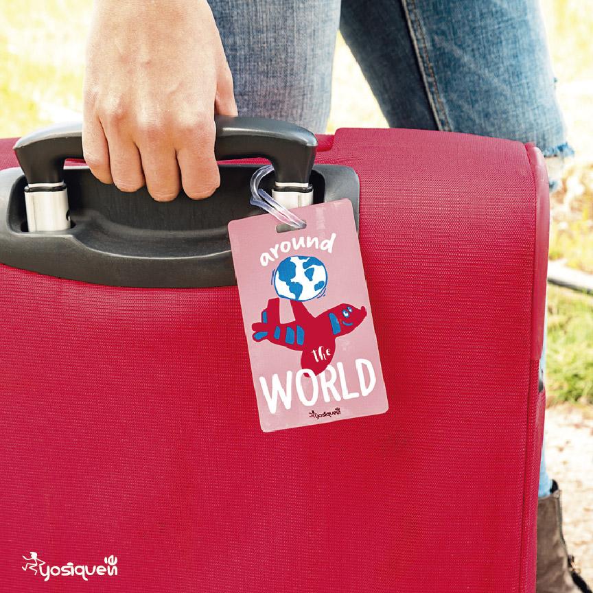 etiquetas de maleta, yosíquesé