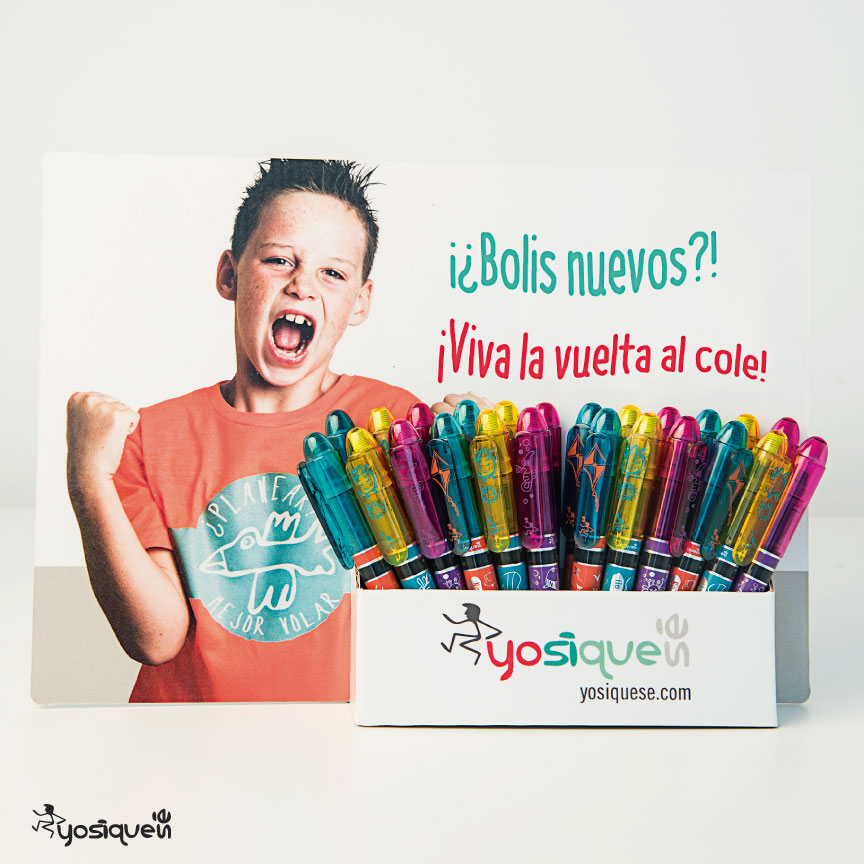 bolígrafos originales, yosíquesé