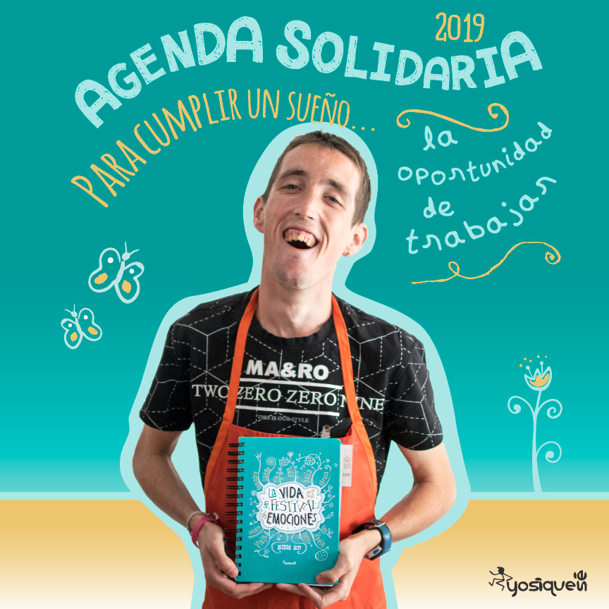 Agendas solidarias divertidas escolares, yosíquesé