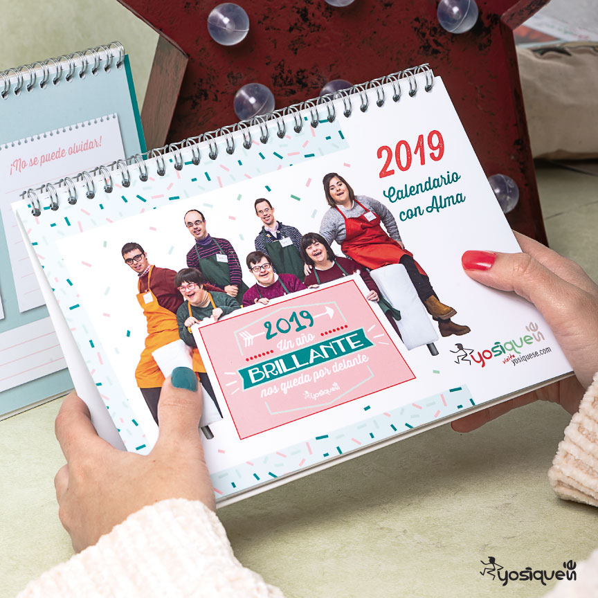 calendario 2019, regalo navidad, calendario, Yosíquesé