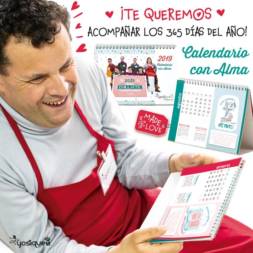 calendario con alma, calendario 2019, rebajas, Yosíquesé