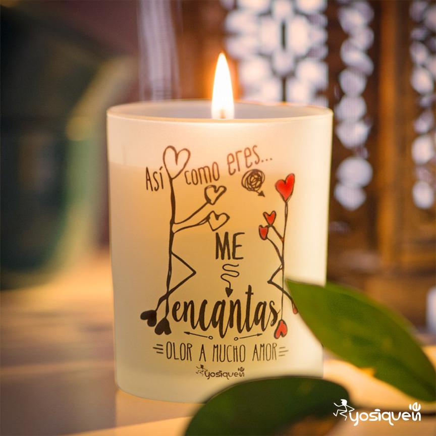regalo san valentín, Yosíquesé, blog, vela